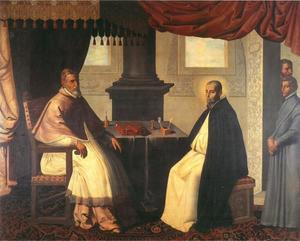 Paus Urbanus II en Sint Bruno