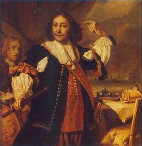Portret van Aert van Nes ( ....-1693)
