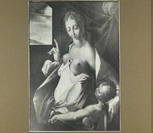 Venus en Amor (linksboven de zonnewagen van Apollo)