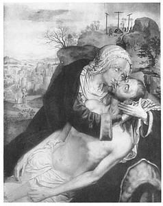 De bewening van Christus door Maria