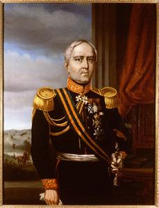 Portret van Johannes Theodorus van Spengler (1790-1856)