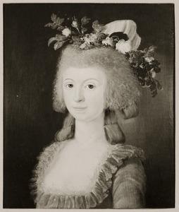 Portret van Eva Catharina Hahn (1759-1834)