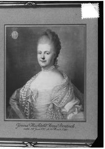 Portret van Josina Mechteld Anna Bentinck (1726-1790)