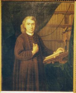 Portret van pater Sebastiaan Becker