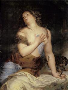 De zelfmoord van Cleopatra