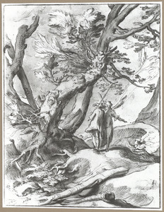 Landschap met Tobias en de aartsengel Raphael (Tobias 5-6)
