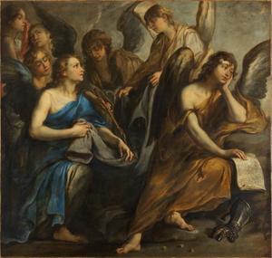 Engelen met de Arma Christi
