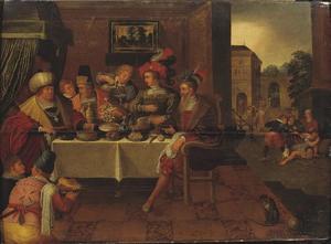 Lazarus en de rijke man