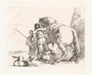 De ruiter en zijn paard