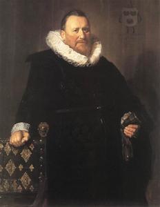 Portret van Nicolaes van der Meer (1574-1637)