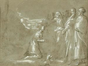 Christus geneest de dochter van de Kananese vrouw
