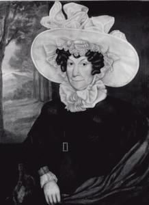 Portret van Maria Leopoldina Catharina Oswaldina Francoise van Oyen (1766-1832)