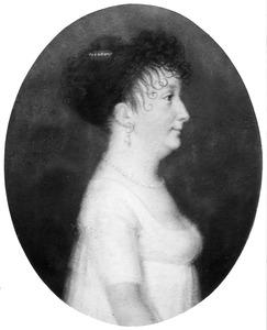Portret van Christina Schimmelpenninck (....-1840)