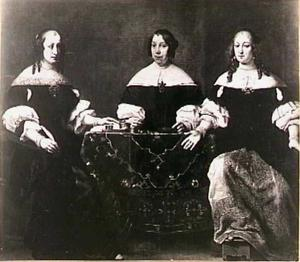Drie regentessen van het Leprozenhuis te Amsterdam: Clara Abba (1631-1671), Agatha Munter (1632-1687) en Elizabeth van Duynen (?-1703)