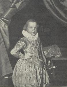 Portret van Hertog Ulrik, bisschop van Schwerin (1611-1633) , zoon van Koning Christiaan IV van Denemarken, als kind