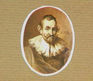 Portretminiatuur van de kunstenaar Jan Wildens (ca.1585-1653)