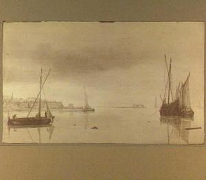 Schepen voor een versterkte havenstad, mogelijk Harderwijk
