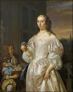 Portret van Agatha Paets