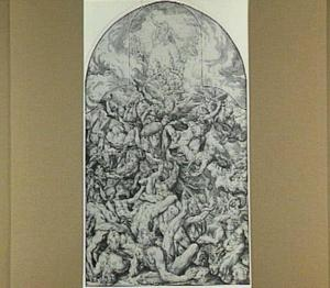 De val der engelen (Openbaringen 12:7-9)