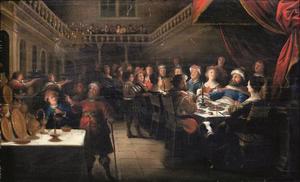 Het feestmaal van koning Belsassar  (Daniel 5)