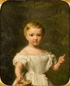 Portret van Maria Cornelia Barones van Heeckeren (1855-1912)