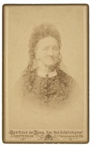 Portret van Abrahamina Hester Geertruij Berends (1808-1896)