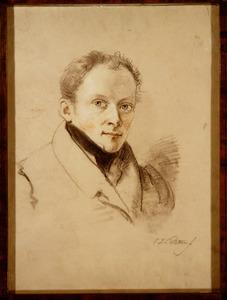 Portret van Johannes Mock (1800-1884)