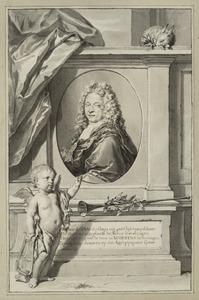 Portret van de dichter Joan de Haes (1685-1723)