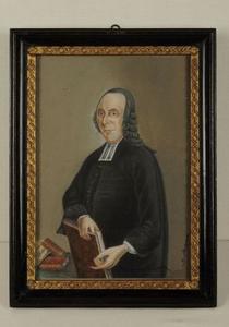 Portret van Theodorus van der Groe (1705-1784)
