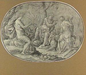 Sine Cerere et Baccho friget Venus (Ceres, Bacchus, Venus en Cupido)