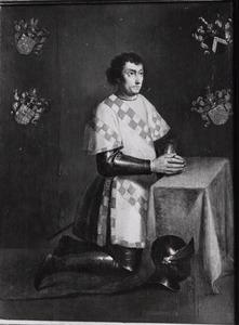 Portret van Nicolaes (Claes) van Ruyven (....-1492)