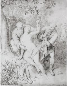 Suzanna belaagd door de ouderlingen