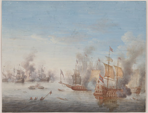 Zeegevecht op volle zee