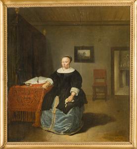 Portret van Maria Coymans (1626-1666)