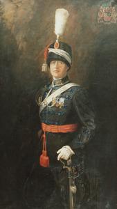 Portret van Iman Dirk Christiaan Quarles van Ufford (1891-1956)