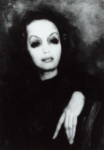 Portret van waarschijnlijk Alexandrine Gortmans (1903-1980)