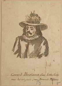 Portret van een man, genaamd Gerardt Abrahamsz. van Houwelingen  (....-1600)