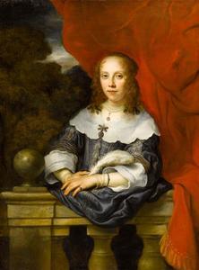 Portret van een vrouw, mogelijk Margaretha van Raephorst (1625-1690)