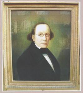 Portret van Louis Suson Pedro Meyboom (1817-1874)