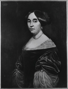 Portret van Ermgard Helena Tulleken (1642-?)