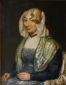 Portret van Atje Bekius (1781-1837)