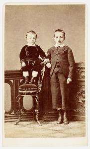 Portret van Epke Willinge Prins (1871-1949) en Petrus Lambertus Willinge Prins (1866-1941)