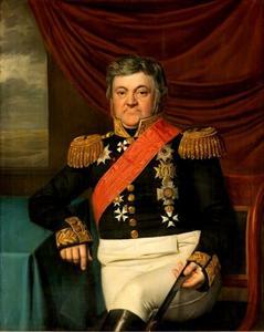 Portret van Lodewijk Sigismund Vincent van Heiden (1772-1850)