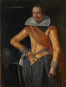 Portret van een officier van de familie Ripperda