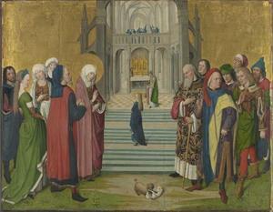 Het leven van Maria: de tempelgang van Maria