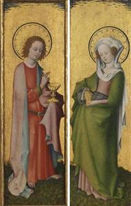 De Heilige Maria Magdalena; De Heilige Johannes de Evangelist