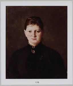 Portret van Helene Schlemel