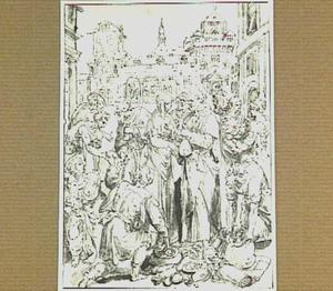 De apostelen ontvangen giften en geven aalmoezen aan bedelaars (Handelingen 4:32-36)
