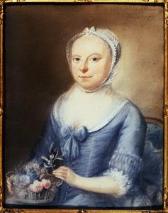 Portret van Anna Catharina van Royen (1736-1783)