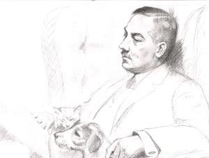Portret van Willem Pieter de Vries (1886-1945)
